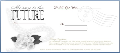 Message To The Future - Envelope