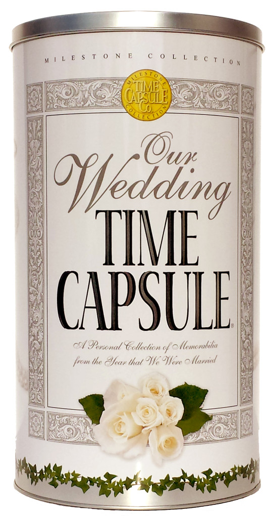 Wedding Time Capsule Wedding Gift Ideas Wedding Keepsake