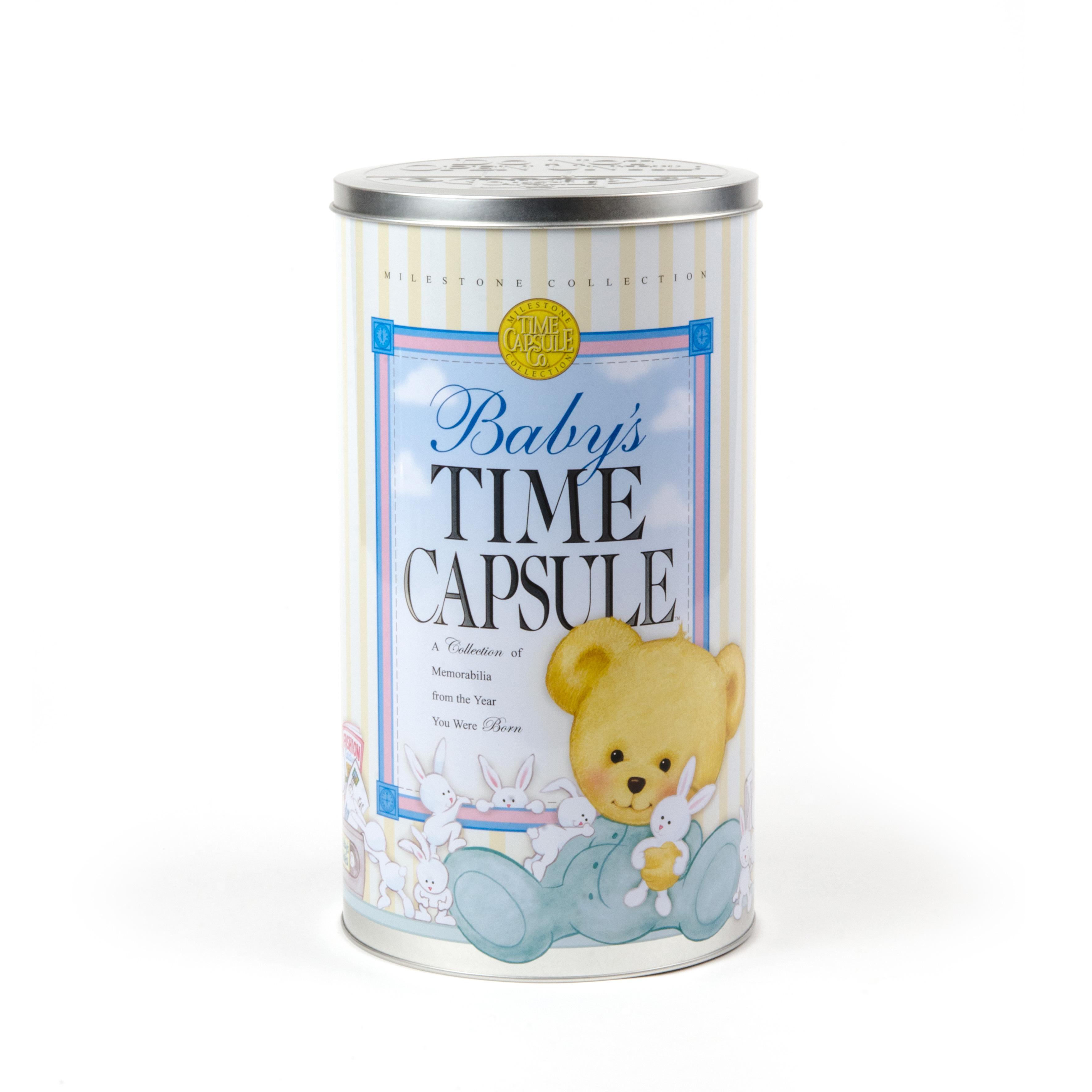 Baby Gift Ideas Keepsake : Baby time capsule keepsake gift ideas