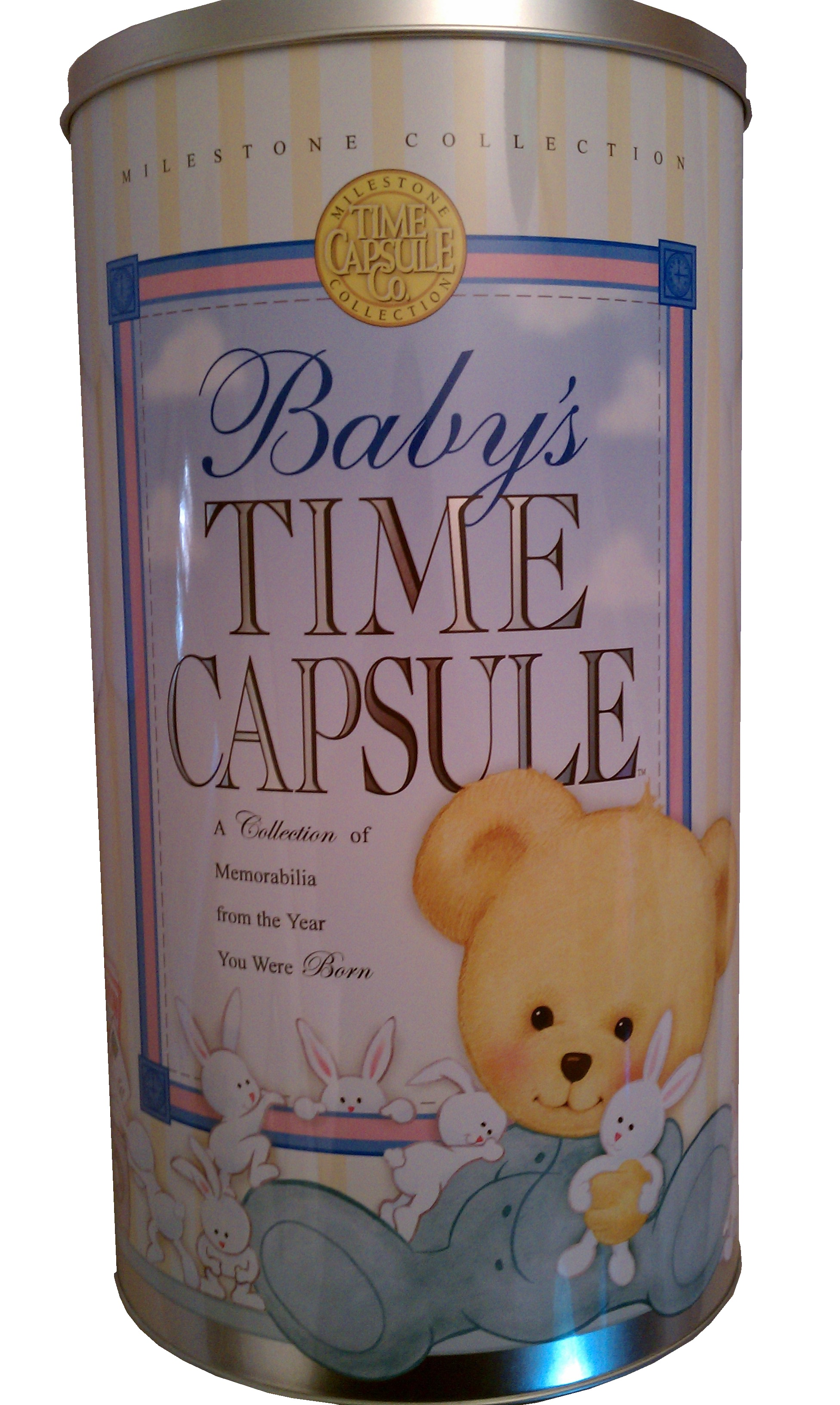 Baby Time Capsule On Pinterest