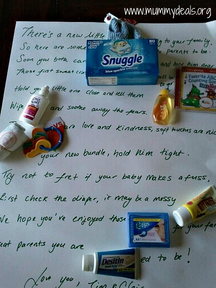 Unique Baby Gifts Baby Shower Poem Time Capsule Company