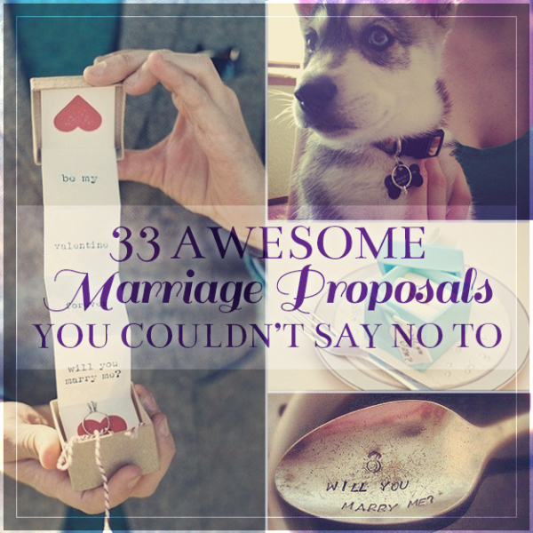 what to say during a marriage proposal