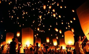 Release Lanterns as Personalized Memorial Service