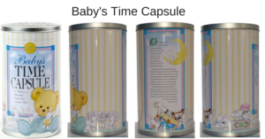 What to include in a Baby Time Capsule