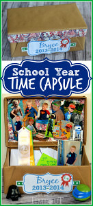 Make a first grade School Time Capsule