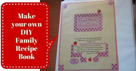 Easy Diy Family Recipe Book Time Capsule Company