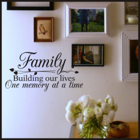 Family History Decor - Wall Quotes