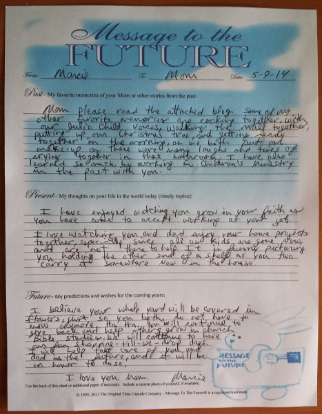 Getting Others Involved In Making A Time Capsule