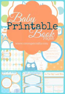 Must Have Baby Book Pages - Printable