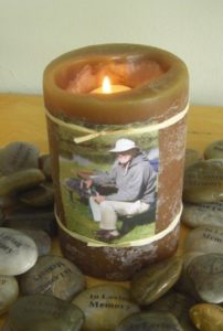Funeral Celebration of Life Ceremony - Candle